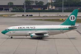 Hariboさんが、シンガポール・チャンギ国際空港で撮影したボーラック・インドネシア航空 737-230/Advの航空フォト(飛行機 写真・画像)