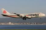 Hariboさんが、関西国際空港で撮影したカーゴルクス・イタリア 747-4R7F/SCDの航空フォト(写真)