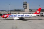 Hariboさんが、チューリッヒ空港で撮影したエーデルワイス航空 A330-243の航空フォト(飛行機 写真・画像)