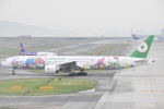 FLYING  HONU好きさんが、関西国際空港で撮影したエバー航空 777-36N/ERの航空フォト(写真)