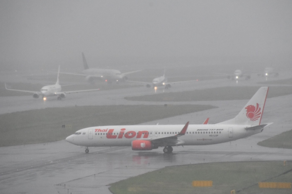 FLYING  HONU好きさんのタイ・ライオン・エア Boeing 737-800 (HS-LUP) 航空フォト