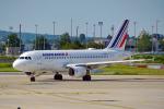 ちゃぽんさんが、パリ シャルル・ド・ゴール国際空港で撮影したエールフランス航空 A319-111の航空フォト(写真)