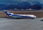 エルさんが、山形空港で撮影した全日空 727-281/Advの航空フォト(写真)