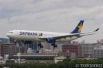 遠森一郎さんが、福岡空港で撮影したスカイマーク A330-343Xの航空フォト(飛行機 写真・画像)