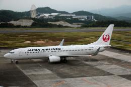 Wasawasa-isaoさんが、南紀白浜空港で撮影した日本航空 737-846の航空フォト(飛行機 写真・画像)