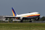 Hariboさんが、アムステルダム・スキポール国際空港で撮影したフライ・エア A300B2K-3Cの航空フォト(写真)