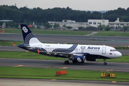 T.Sazenさんが、成田国際空港で撮影したオーロラ A319-111の航空フォト(写真)