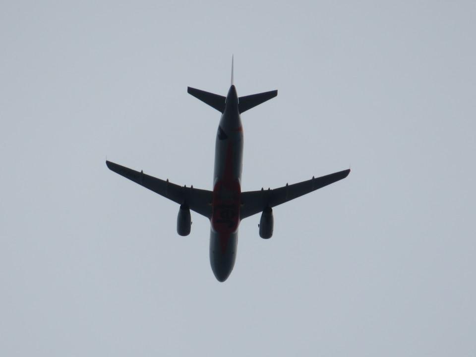 カップメーンさんのジェットスター・ジャパン Airbus A320 (JA02JJ) 航空フォト