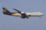 PASSENGERさんが、仁川国際空港で撮影したUPS航空 747-8Fの航空フォト(写真)