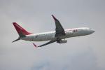 OMAさんが、香港国際空港で撮影したイースター航空 737-8Q8の航空フォト(飛行機 写真・画像)
