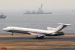 banshee02さんが、羽田空港で撮影したブルガリア政府 Tu-154Mの航空フォト(写真)