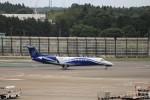 KAZFLYERさんが、成田国際空港で撮影したジェット・アジア EMB-135BJ Legacyの航空フォト(飛行機 写真・画像)