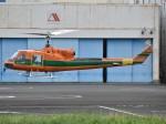 とびたさんが、東京ヘリポートで撮影したアカギヘリコプター 204B-2(FujiBell)の航空フォト(写真)