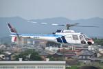 とびたさんが、名古屋飛行場で撮影した中日本航空 AS350B Ecureuilの航空フォト(写真)