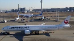 westtowerさんが、羽田空港で撮影した日本航空 777-346/ERの航空フォト(飛行機 写真・画像)