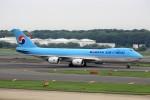T.Sazenさんが、成田国際空港で撮影した大韓航空 747-8B5F/SCDの航空フォト(写真)