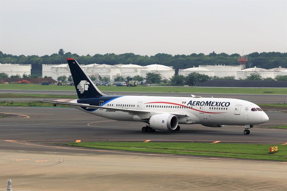 T.Sazenさんのアエロメヒコ航空 Boeing 787-8 Dreamliner (N783AM) 航空フォト
