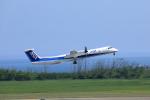 TAKAHIDEさんが、新潟空港で撮影したANAウイングス DHC-8-402Q Dash 8の航空フォト(写真)