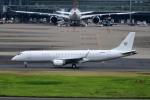 kamerajiijiさんが、羽田空港で撮影したアメリカ個人所有 ERJ-190-100 ECJ (Lineage 1000)の航空フォト(写真)