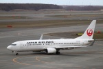 zero1さんが、新千歳空港で撮影した日本航空 737-846の航空フォト(飛行機 写真・画像)