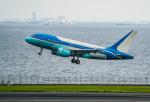 HND_fanさんが、羽田空港で撮影したヤーリアン・ビジネスジェット A318-112 CJ Eliteの航空フォト(写真)