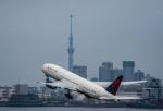 HND_fanさんが、羽田空港で撮影したデルタ航空 777-232/ERの航空フォト(写真)