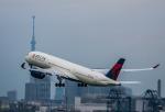 HND_fanさんが、羽田空港で撮影したデルタ航空 A350-941XWBの航空フォト(写真)