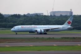 T.Sazenさんが、成田国際空港で撮影したエア・カナダ 787-9の航空フォト(飛行機 写真・画像)