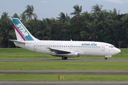 Hariboさんが、スカルノハッタ国際空港で撮影したスターエア 737-2B7/Advの航空フォト(飛行機 写真・画像)