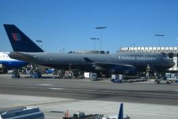 Hiro-hiroさんが、ロサンゼルス国際空港で撮影したユナイテッド航空 747-422の航空フォト(飛行機 写真・画像)