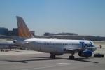 Hiro-hiroさんが、ロサンゼルス国際空港で撮影したユナイテッド航空 A320-232の航空フォト(飛行機 写真・画像)