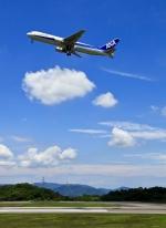 くれないさんが、高松空港で撮影した全日空 767-381の航空フォト(写真)