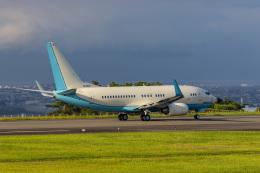 pcmediaさんが、静岡空港で撮影した大韓航空 737-7B5 BBJの航空フォト(写真)