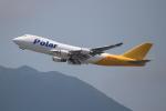 OMAさんが、香港国際空港で撮影したポーラーエアカーゴ 747-47UF/SCDの航空フォト(飛行機 写真・画像)