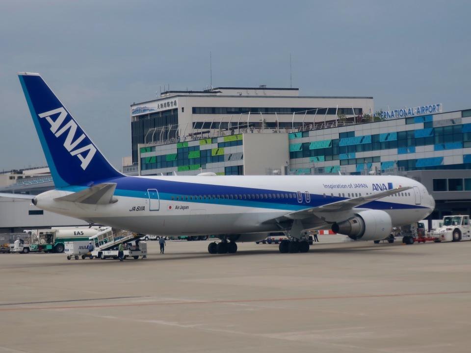 マッペケさんの全日空 Boeing 767-300 (JA611A) 航空フォト
