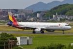 あしゅーさんが、福岡空港で撮影したアシアナ航空 A321-231の航空フォト(飛行機 写真・画像)