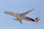 いっくんさんが、関西国際空港で撮影したマレーシア航空 A350-941XWBの航空フォト(飛行機 写真・画像)