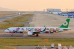 いっくんさんが、関西国際空港で撮影したエバー航空 A321-211の航空フォト(飛行機 写真・画像)