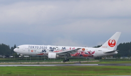 EosR2さんが、鹿児島空港で撮影した日本航空 767-346/ERの航空フォト(飛行機 写真・画像)