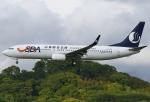 あしゅーさんが、福岡空港で撮影した山東航空 737-85Nの航空フォト(飛行機 写真・画像)
