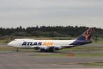 KAZFLYERさんが、成田国際空港で撮影したアトラス航空 747-412F/SCDの航空フォト(写真)
