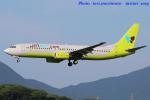いおりさんが、福岡空港で撮影したジンエアー 737-86Nの航空フォト(写真)