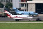なごやんさんが、名古屋飛行場で撮影した航空自衛隊 U-125 (BAe-125-800FI)の航空フォト(写真)