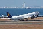 yabyanさんが、中部国際空港で撮影したルフトハンザドイツ航空 A340-642の航空フォト(写真)