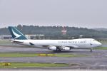 KAGURA-747さんが、成田国際空港で撮影したキャセイパシフィック航空 747-467F/ER/SCDの航空フォト(写真)