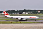 KAGURA-747さんが、成田国際空港で撮影したスイスインターナショナルエアラインズ A340-313Xの航空フォト(写真)