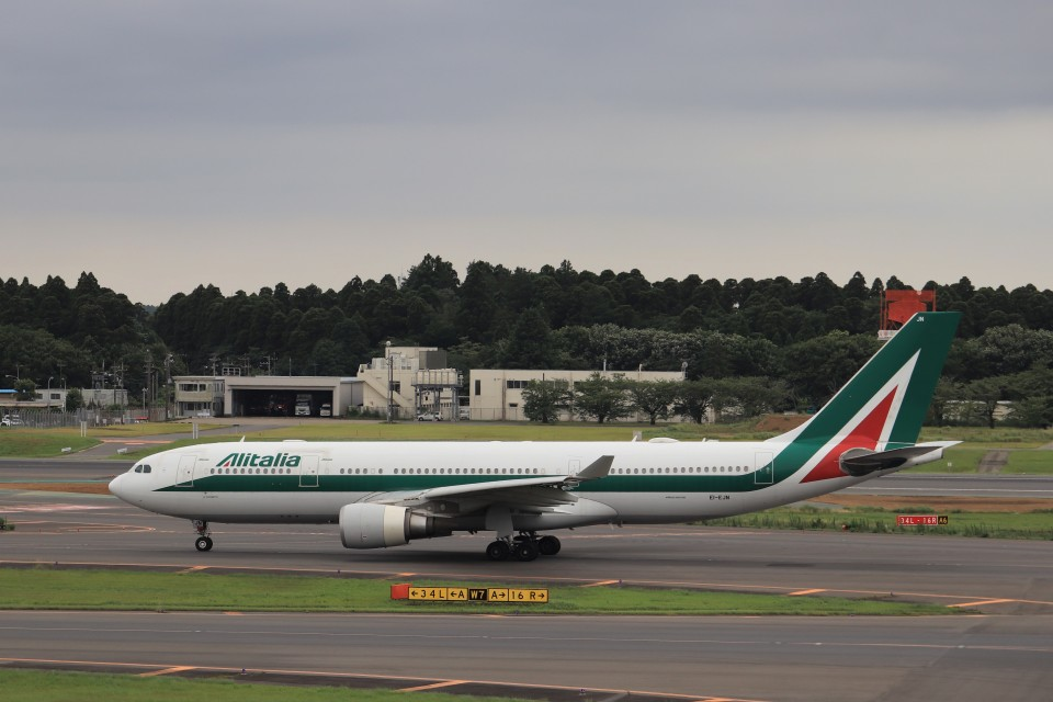 KAZFLYERさんのアリタリア航空 Airbus A330-200 (EI-EJN) 航空フォト