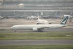 keitsamさんが、羽田空港で撮影したキャセイパシフィック航空 777-367の航空フォト(写真)