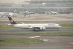 keitsamさんが、羽田空港で撮影したルフトハンザドイツ航空 A350-941XWBの航空フォト(写真)
