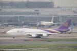 keitsamさんが、羽田空港で撮影したタイ国際航空 747-4D7の航空フォト(写真)